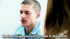 Prison Break Gifs   It's prison, yo! — Favorite Prison Break Quotes →  Michael Scofield
