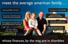 If this represents your family, it does not have to be this way. We can help! (via American Patriot)