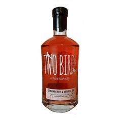 Two Birds Strawberry & Vanilla Gin 37.5% 70cl