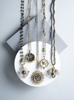 CS-DB Jewelry Silver Cross Glittering CZ Zircon Chain Charm Pendants Necklaces