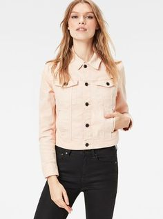 3301 Straight Cropped Jacket