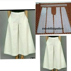FREE PATTERN ALERT: Pants and Skirts Sewing Tutorials - On the Cutting Floor: Printable pdf sewing patterns and tutorials for women# # indispensable # of the summer # # # # sew # sew # sewing life # tailor # dressmaker … – sewing- Best Sewing Ti Skirt Patterns Sewing, Sewing Patterns Free, Clothing Patterns, Shirt Patterns, Pattern Sewing, Coat Patterns, Sewing Pants, Sewing Clothes, Skirt Sewing