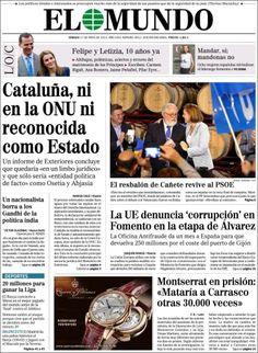 """""""Cataluña, ni en la ONU, ni reconocida como Estado"""""""