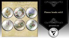 Flower brads vol.2 by Black Lady Designs