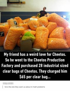 How many Cheetos did he buy in total?