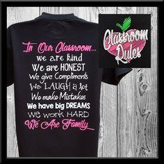 Teaching is my Highlight Teacher T-Shirt - Kind Shirt - Ideas of Kind Shirt - Classroom Rules just an idea. Could maybe customize for ecdc? Preschool Teacher Shirts, Teaching Shirts, Teaching Outfits, Shirts For Teachers, School Spirit Shirts, Monogram T Shirts, Classroom Rules, Work Shirts, Teacher Clothes