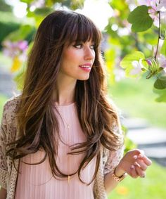 Most Demanding Long Hairstyles 2017 with Bangs