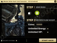 Mobile Strike Hack is finally available! Find out what can this application provide you today and enjoy all the features we have got for you! Before you do that, however, let us say a few more things about the quality of the services you can find on DarkHacks4you.com...