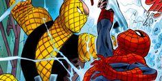 Arte promocional mostra o visual do Shocker em Homem-Aranha: De Volta ao Lar