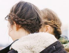 Try wrapping your braid around the bottom of your scalp instead of on top for an upside down crown effect.