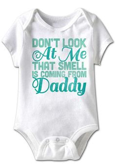 Look at this Festivi-tees White 'Daddy's Little Irish Half Pint' Bodysuit - Infant on today! Funny Babies, Cute Babies, I Love My Dad, Daddys Little Girls, Everything Baby, Baby Time, Cute Baby Clothes, Babies Clothes, Baby Outfits