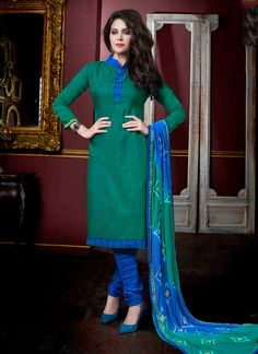 http://www.sareesaga.com/index.php?route=product/product&product_id=18100 Work:Embroidered LaceStyle:Churidar Suit Shipping Time:10 to 12 DaysOccasion:Party Festival Casual Fabric:JacquardColour:Green For Inquiry Or Any Query Related To Product,  Contact :- +91 9825192886
