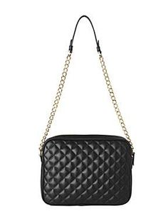 Quilted bag with chain | Beautiful sling bags | Pinterest ...