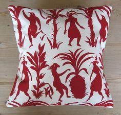 Birdjig cushion