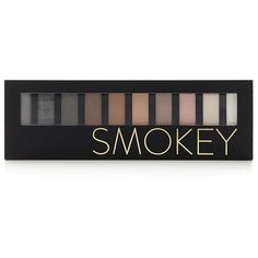 Forever 21 Smokey Eye Shadow Palette (410 DOP) ❤ liked on Polyvore featuring beauty products, makeup, eye makeup, eyeshadow, forever 21 and palette eyeshadow