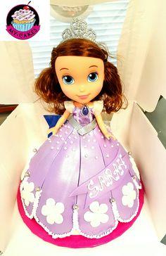 Sophia the First themed birthday cake