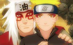 Jiraiya sensei & Naruto