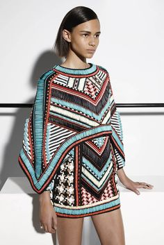Balmain Resort 2015 ~Latest African Fashion, African Prints, African fashion styles, African clothing, Nigerian style, Ghanaian fashion, African women dresses, African Bags, African shoes, Kitenge, Gele, Nigerian fashion, Ankara, Aso okè, Kenté, brocade. ~DKK