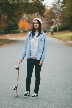 skaterboard outfit -