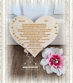 KÖSZÖNETAJÁNDÉK SZERETTEIDNEK   retrolett Frame, Wedding, Home Decor, Picture Frame, Valentines Day Weddings, Decoration Home, Room Decor, Weddings, Frames