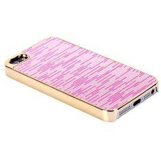 Monarco Chrome (Vaaleanpunainen) iPhone 5S Suojakuori - http://lux-case.fi/monarco-chrome-vaaleanpunainen-iphone-5-suojakuori.html
