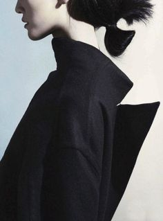 "everything-went-black: ""Coat tails"". Photographed by Marcus... - givenchy ghost"