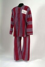 "Clothing worn by Commander Allen 'Al' Carpenter USN while a POW held at ""Hanoi Hilton"" prison,November to March Vietnam Veterans, Vietnam War, My War, North Vietnam, Striped Pyjamas, Today In History, Prisoners Of War, State Of The Union, American War"