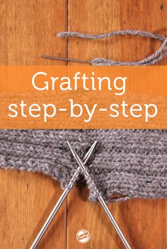 Don't miss this free, online video class! Follow along with lifelong knitter Anne Hanson as she demystifies grafting in convenient lessons you can watch anytime, anywhere, forever.