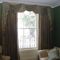 House Couturier, London supply craftsman made curtains and draperies Curtains Bespoke, Curtains And Draperies, Custom Made Curtains, How To Make Curtains, Made To Measure Curtains, Window Coverings, Window Treatments, Essex London, Interior Decorating