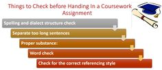 5 Things to Check before Handing In a #Coursework or an #Assignment — Medium
