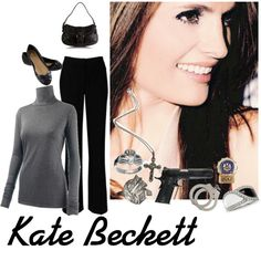 Katherine Beckett, created by caskett on Polyvore