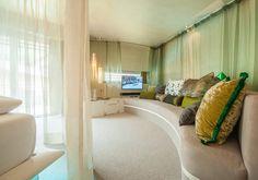 Romantic Hotel in Austria Oriental Fashion, Oriental Style, Das Hotel, Beautiful Bedrooms, Austria, Romantic, Curtains, Home Decor, Open Fireplace