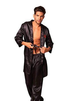 Mens Silk Pajamas, Zoot Suits, Evening Attire, Satin Shirt, Gay, Lingerie, Mens Fashion, Blouse, Casual