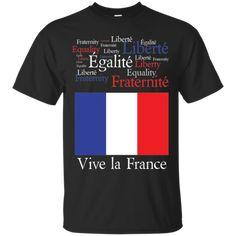 Vive La France T-shirt France World Cup 2018, France 1, Custom Shirts, Things That Bounce, Mens Tops, T Shirt, Custom Tailored Shirts, Supreme T Shirt, Tee Shirt