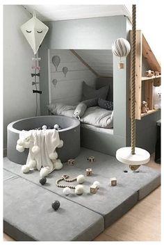 Baby Bedroom, Baby Room Decor, Bedroom Decor, Bedroom Lighting, Bedroom Lamps, Bedroom Black, Monochrome Bedroom, Bedroom Girls, Wall Lamps