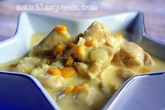 Chicken with Creamed Corn - Manila Spoon