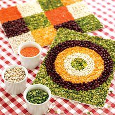 Beans mosaic ..