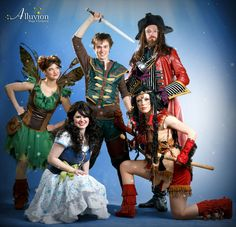 Alluvion takes off with peter pan liberty university more