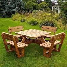 Resultado de imagen para unique picnic table