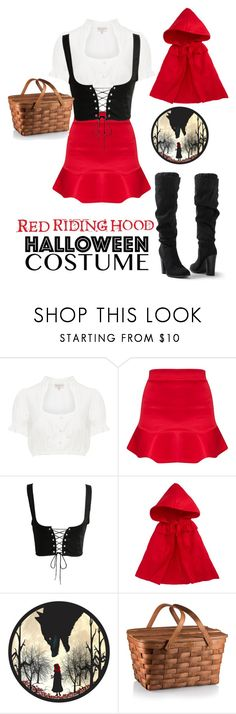 """""""Red riding hood..."""" by bamye ❤ liked on Polyvore featuring Siaomimi and Venus"""