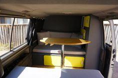 Mitsubishi Starwagon Driving Miss Daisy, Future Car, Backpacker, Bunk Beds, Van, Road Trip, Furniture, Dining, Inspiration