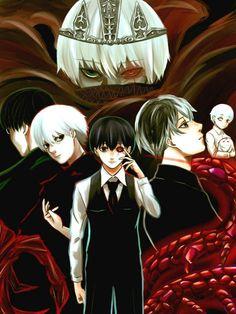 Transtornos Psicológicos De Ken Kaneki   Tokyo Ghoul Brasil Amino