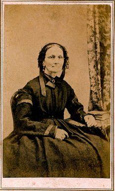 Elderly Widow, Albumen Carte de Visite with Tax Revenue Stamp, 1864-1866   Flickr - Photo Sharing!