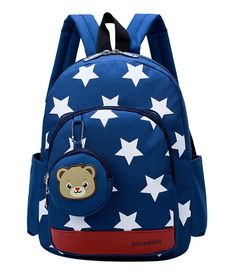 NEW Cute Little Stars Children s Backpack Lovely cartoon School Bags For Boys  Girls kindergarten bag baby cbcac48e48
