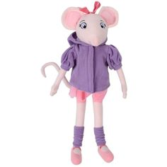 "Whitehouse Leisure 17"" Angelina Ballerina Plush Soft Toy Removable Jacket Leg Warmers * Read more reviews of the product by visiting the link on the image. (This is an affiliate link) #PlushFigures"