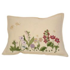 Flora Garden Hand-embroidered