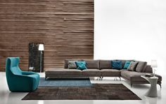 Design 2013 Ditre Italia - Sofa Foster leather - Products - Design