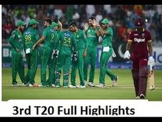 Pakistan vs West Indies 3rd T20 Match 2016 Full Highlights - Cricket Tower