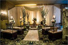 Beautiful, rustic wedding decor by Emerald City Designs at The Royal Park's Ballroom Bliss 2013 ArisingImages.com