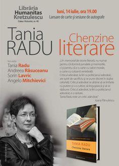 întâlnire cu Tania Radu